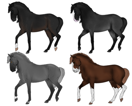 Horse Adopts 2 Left by NorthernMyth