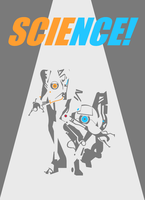 SCIENCE! print by punk407