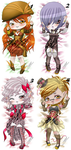 OPEN Lady Steampunk DakimakurAdopt (points|paypal) by Mokolat-Illustr
