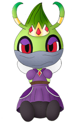 Selene the Shadow Queen Celebi Bound (For xmattox) by Unownace