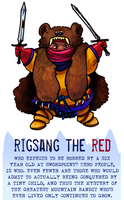 Day 48 - The Red Bandit by flatw00ds