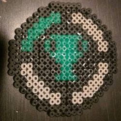 game theory matpat youtube perler  by Nastiwolf