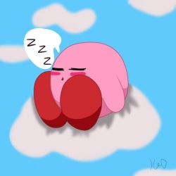 Kirby's Naptime by ShadAmyfangirl129