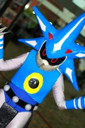 Otakon 2013 - Metal Sonic by VideoGameStupid