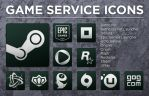 Game Service Icons by rotane