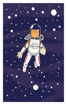 Major Tom In Space Final by AJonathanCox