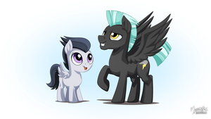 Thunderlane and Rumble by mysticalpha