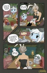 LoL - Evening at the Jungle Cafe by ffSade