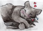 Cuddlebug (scanned) by JcArtSpace