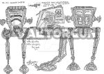 AT-ST design by Valtorgun-le-Grand
