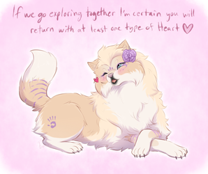 [Tokotines Raffle 2017] Exploring for Hearts by Furreon