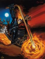 Ghost  Rider by scarrart