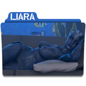 Liara Folder/Icon for N7-CMDR by Lezya