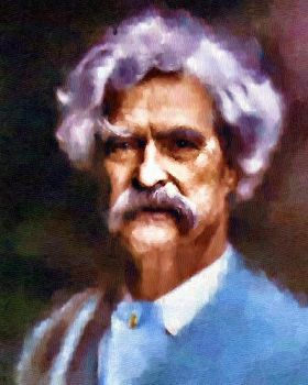 Mark Twain by peterpicture