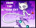 Commish: Eboni the Ultrian Cat by Sayamiyazaki