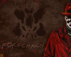 Rorschach Wallpaper by Ludkubo