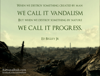 Vandalism and Progress.. by rationalhub