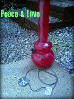 Peace and Love by HippieStoner1