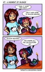 Jinxed 47 - A moment of silence by Hotaru-oz