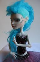 Ghoulia's GlamPunk makeover by FeralWorks