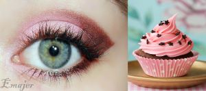Cupcake makeup by Emajer