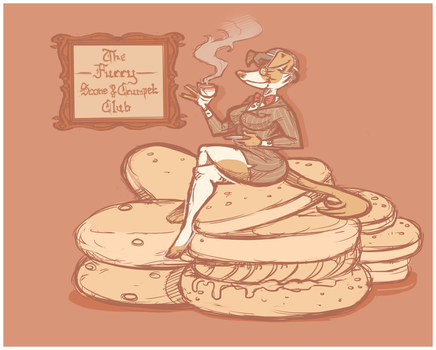 Puppette On Crumpet by WanEcc