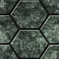 Hexagonal Metal Tiles 01 Remake by Hoover1979