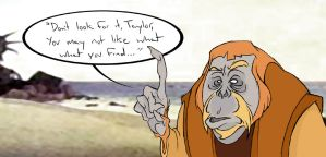 Dr. Zaius, Dr. Zaius by gloriouskyle