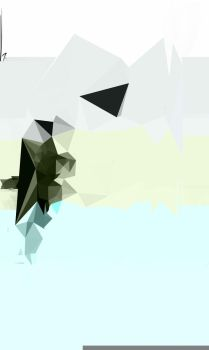 Glitch Triangle A3 by ESPLANODE