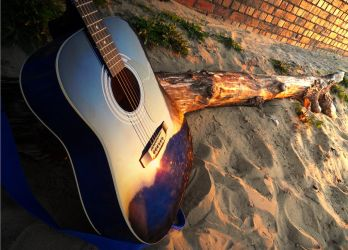 Guitar's Reflection 3 by bbaazzzzaa
