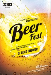 Beer Fest Flyer by styleWish
