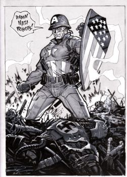 It's Captain America day 1 by MichaelDooney