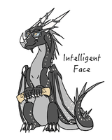 Intelligent Face by MoonriseTheMage