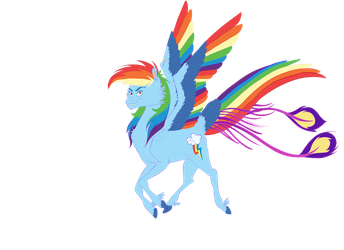 Rainbow Dash New Concept by animalpainter