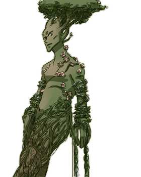 tree monster by sparksel