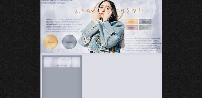 free design ft. Noah Cyrus by designsbyroth