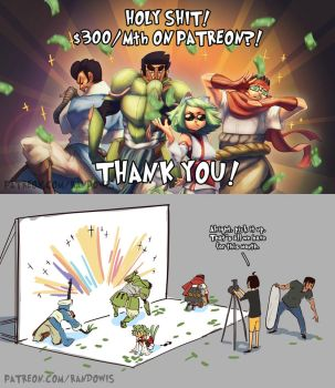 $300 GOAL ON PATREON! by RandoWis