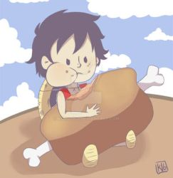 Luffy request by kurodo-j