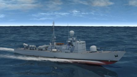 FGS S-77 Dachs - starboard view by Bartolomeus755