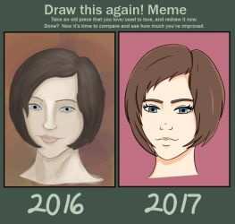 Draw This Again - 2016/2017 by SugarpuffZombie