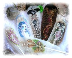 Faerie Feathers by ChaeyAhne