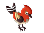 fly collab fletchinder by Huatay