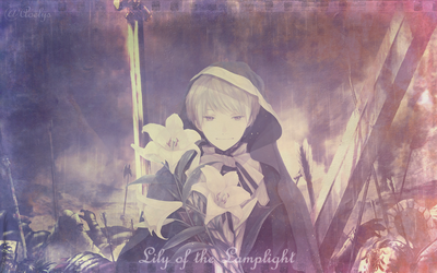 Lily of the Lamplight by Unschuldsengel12