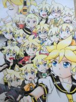 Too much Kagamine Len? Nope. There's more. by KagamochiLen