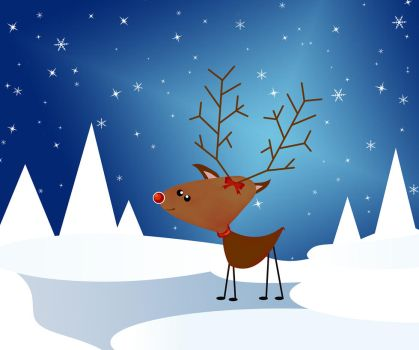 This is Rudolph say Hello by znow-white