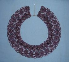 beaded collar. by salembaby