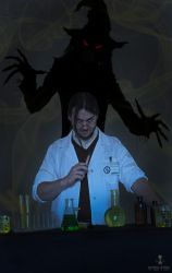 Dr. Jonathan Crane - the Scarecrow by beckyalbright