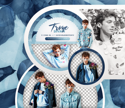 PACK PNG 781| TROYE SIVAN by MAGIC-PNGS