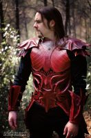 Dragon Efreet leather armor by AtelierFantastique