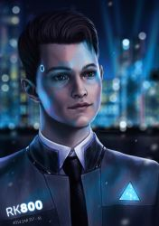 Connor | Detroit: Become Human by Anastasia-berry